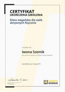 certyfikat-szkolenie-dieta-weganska-iwona-szemik